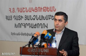 ARF-D Supreme Council of Armenia chairman Armen Rustamyan