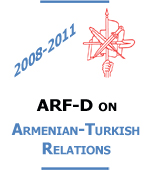 ARF Official Position on Armenia-Turkey Relations