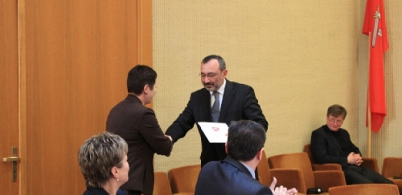 Karabakh Foreign Minister Karen Mirzoyan accepts the friendship group's agreement