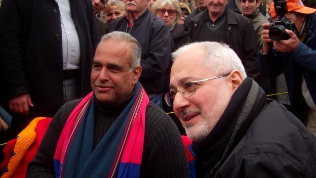 Raffi Hovhannesyan and Vahan Hovhannesyan