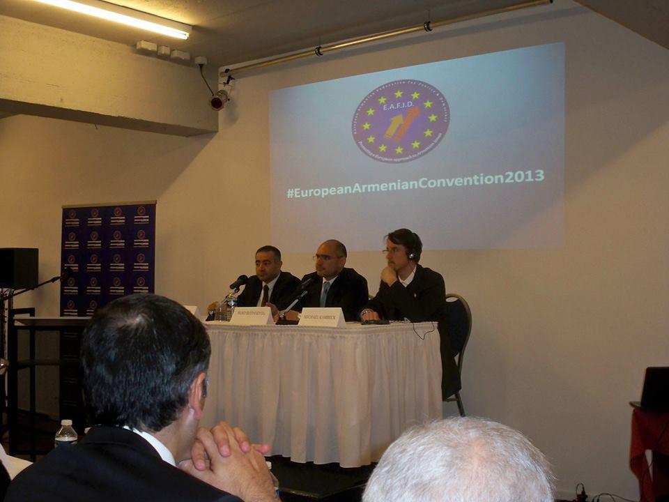 Day 1, panel 2: Hratch Varjabedian, Bedo Demirjian-Kurkjian, Michael Kambeck
